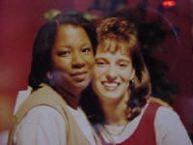 My wife and Babbie Mason