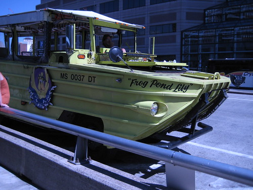 "Duck Boat Tours ""Frog Pond Lily"""