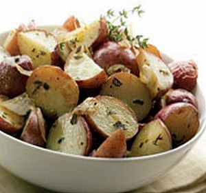 Red Potato Salad with Garlic  Herbs Fun and Food Cafe