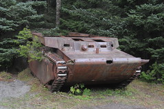 Leftovers (Yakutat, AK, USA) (Joe Ruffles) Tags: alaska tank wwii cannonbeach lvt landingvehicletracked