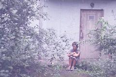 автопортрет 151й день (tomato_senya) Tags: trees summer selfportrait colour me bodylanguage 365ru