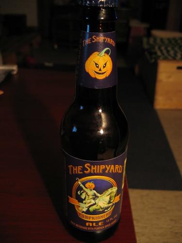Shipyard Pumpkinhead Ale