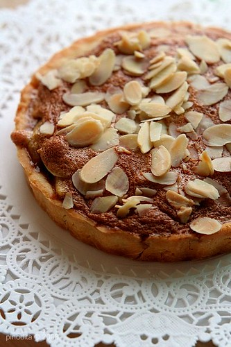 Apple Tart with Almond Nougatine