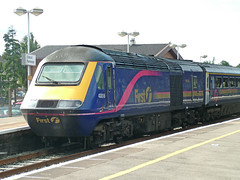 43018 Didcot Parkway 21-08-06 (47409 xei GD) Tags: br first trains firstgreatwestern 125 hst paxman valenta didcotparkway class43 intercity125 firstgroup ic125 fgw 43018 43018theredcross firstgroupplc ©copyright47409xeigd