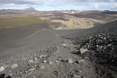 View from the top (sashimi-mini) Tags: iceland myvatn hverfjall