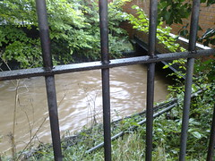 bournbrook flooding - just by the university gates