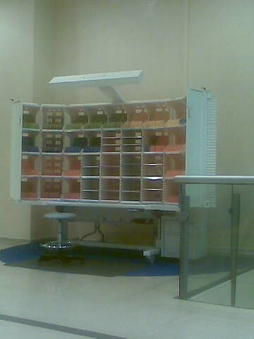 C'est ma tournée: les casiers modulaires