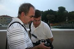 PAOLO e CLAUDIO (incontrinordest) Tags: paolo calatrava claudio novi chicc laprimaalbadelponteinuso 12settembre2008