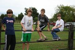 Austin, Nate, Trevor and Enno by fusionmonkey