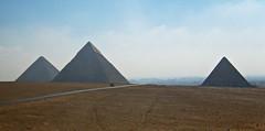 Giza Plateau (zolakoma) Tags: pyramid egypt giza khufu khafre menkaure
