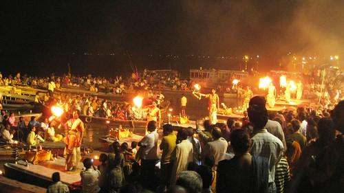 Ganga Aarti @ Varanasi
