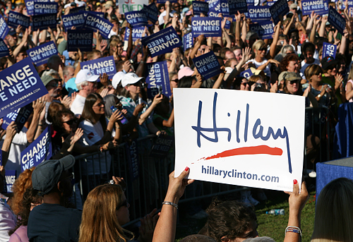 Hillary Sign