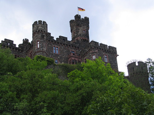 One of the first castles we saw