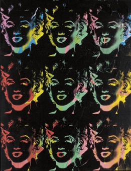 Andy Warhol - Marilyn Reversal Series