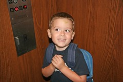 Riding the elevator (c-eight) Tags: canon eos400d digitalrebelxti