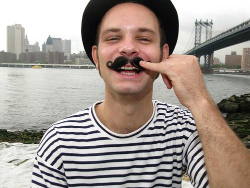 Landon Lesser Jones shows us how his Moustache works by Justin Parr