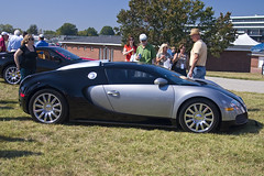 Bugatti Veyron (The Pug Father) Tags: show downs automobile kentucky ky churchill louisville concours bugatti veyron delegance