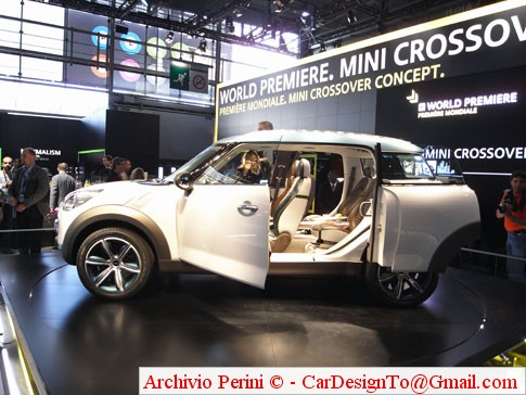 MINI CROSSOVER CONCEPT @ 2008 PARIS MOTOR SHOW