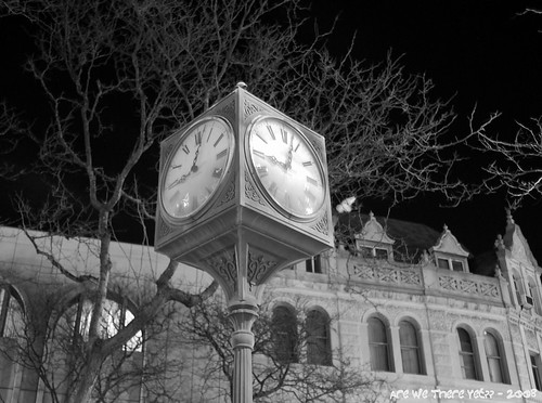 Courthouse Clock & Bank Building