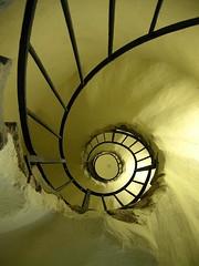 From the base... (Tohr, l'Alchimista) Tags: torino stair basilica scala monte base superga scalaachiocciola