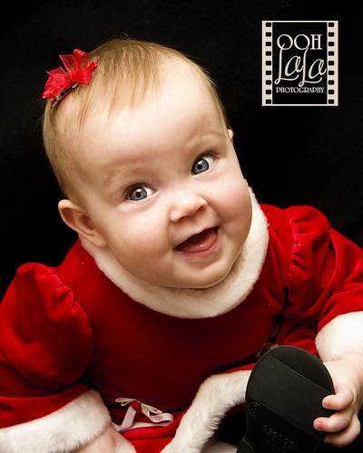 Goofy grinning girl