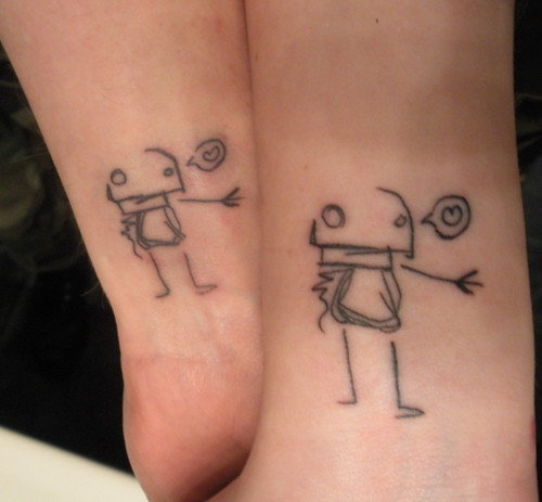 His and Her Matching Tattoos Designs