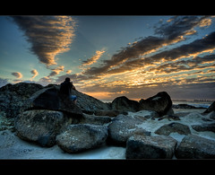Point of view ([ Kane ]) Tags: ocean sky sun beach clouds sand rocks explore qld kane hdr tog currumbin gledhill kanegledhill kanegledhillphotography