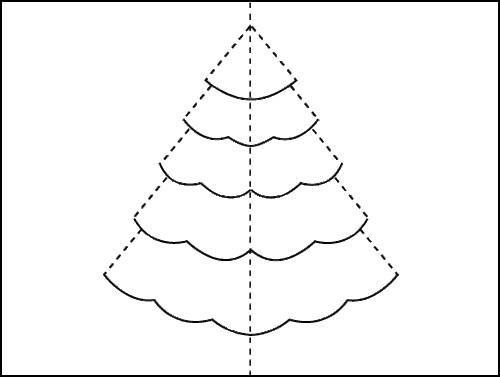 Como hacer una tarjeta de navidad en 3d