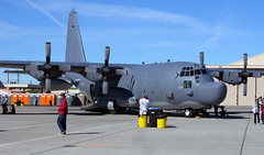 MC-130H With People... (planephotoman) Tags: lockheed usaf hercules c130 socom lasvegasnv specialops nellisafb aetc mc130h c130h kirtlandafb 61699 550sos 58sow aviationnation08 861699
