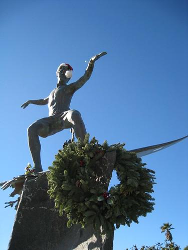 Surfer Statue, Encinitas, CA