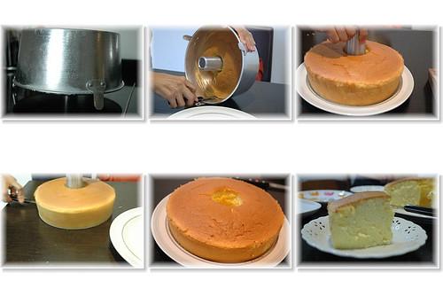 你拍攝的 蛋糕。