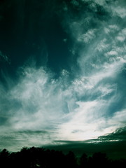"""clouds organizing for the Sunset"" (cdvoorhis) Tags: beauty lookingwest preparingforsunset skycloudssunni"