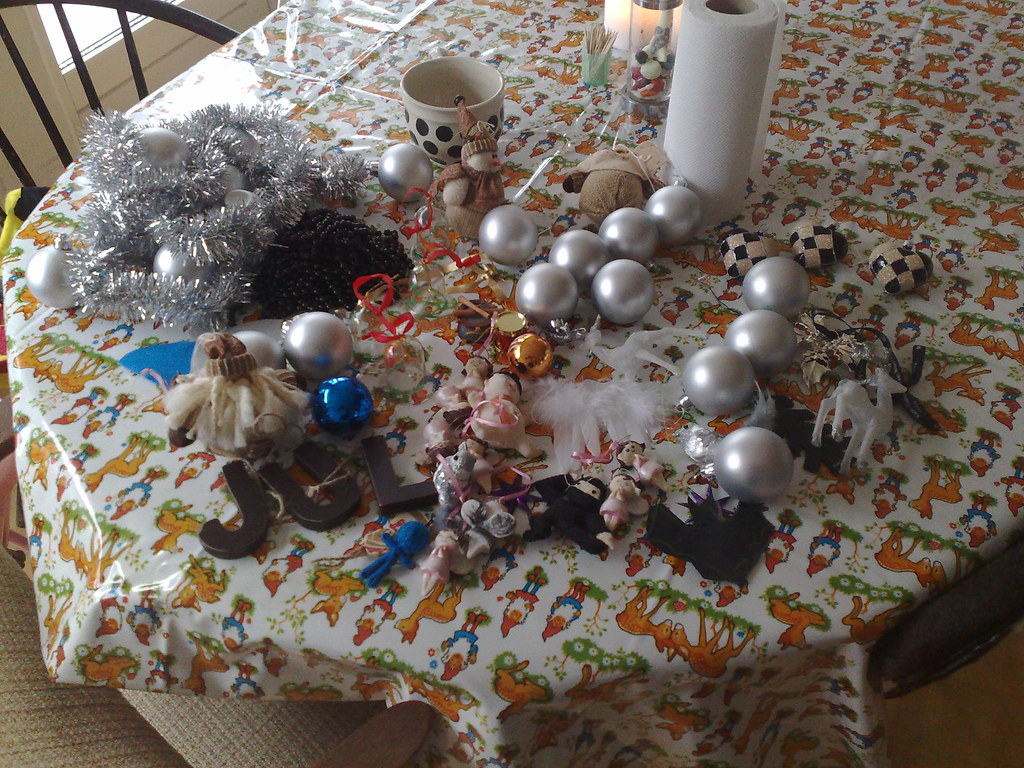 how much christmas stuff we have chez nous