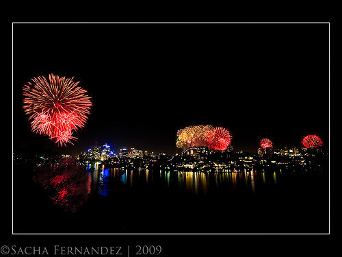 Sydney New Years Fireworks 2009