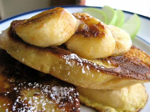 Sweet and Low: Caramelized Banana French Toast | Simmer ...