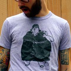 Marge (karl_addison) Tags: color art fashion shirt illustration design sweater clothing artwork drawing tshirt screenprinting cotton organic fleece gym tee apparel partybots karladdison screenprintscreenprint
