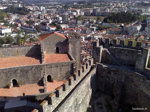 Vista da Torre de Menagem, de cortar a respiração