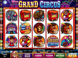 The Grand Circus Nodownload Online Slot Machine