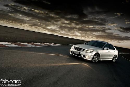 Mercedes-Benz C63 AMG by Fabio Aro.
