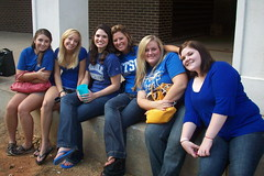 MTSU tailgate (courtneysmilestoo) Tags: people mtsu