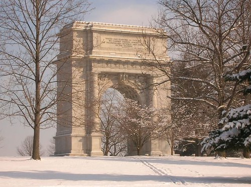 The arch at Valley Forge