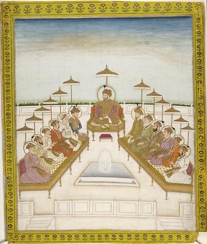 007-- Pintura india siglos XVIII-XIX