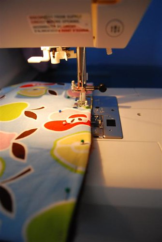 Topstich with 3/8 inch seam