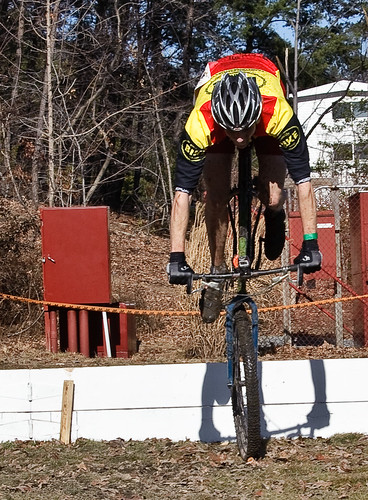 A single-speed, a single barrier. What could go wrong?
