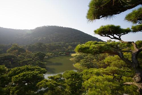 Ritsurin Koen in Takamatsu, Japan