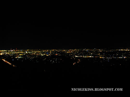 Mount Cootha beautiful brisbane night view