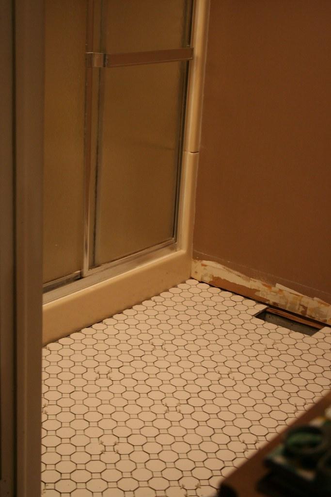 tile installed