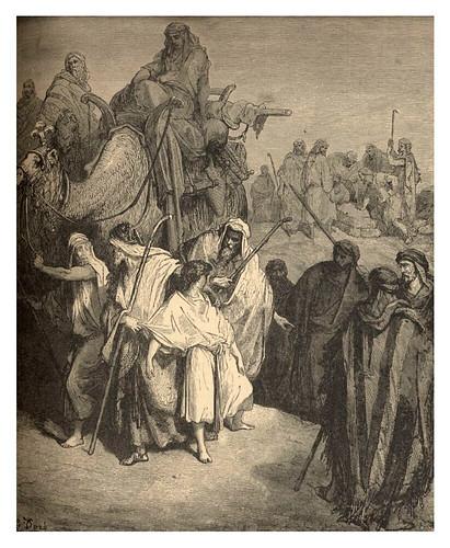 004-José vendido en Egipto-Gustave Doré