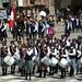 Défilé des meilleurs élèves des écoles de Cuzco sur la Plaza de Armas