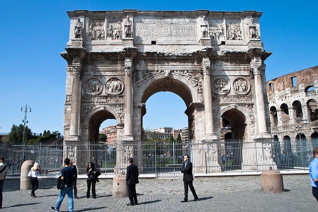 Rome. Arco di Constantino